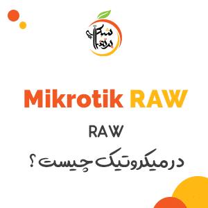 آموزش-میکروتیک-RAW چیست-پرتقال شبکه