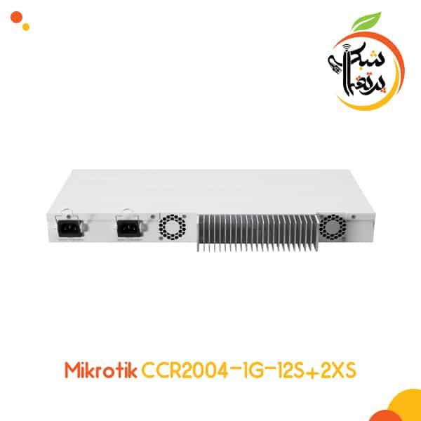 CCR2004-1G-12S+2XS - روتر قدرتمند میکروتیک - تجهیزات شبکه - پرتقال شبکه