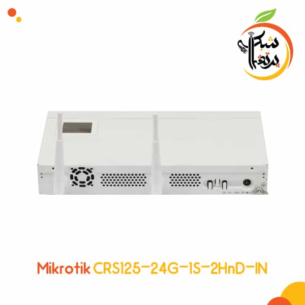 CRS125-24G-1s-2HnD -روتر سوئیچ میکروتیک - پرتقال شبکه